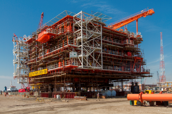 CONSTRUCTION OF OFFSHORE DECKS – SOUTH PARS FIELD, PHASE 17-18